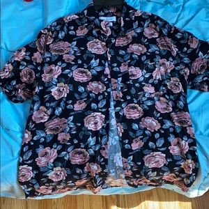 Urban Outfitters Black Floral